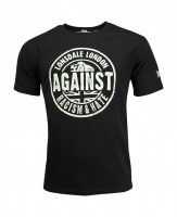 AGAINST RACISM T-shirt męski Regular Fit 1000 Czarny